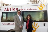 Hansa Meyer Global übergibt großzügige Spende an Aktion Hilfe für Kinder