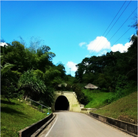 Mit Taschenlampe auf Trinidad