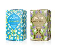 """Produktneuheit: Zwei neue """"Dreier"""" Tees von Pukka Herbs"""