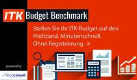 Liege ich richtig mit meinem IT-Budget? - techconsult und Pironet NDH launchen ITK-Budget-Benchmark für IT-Entscheider
