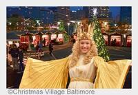 Nürnberger Christkind eröffnet deutschen Weihnachtsmarkt in der US-Hafenmetropole Baltimore