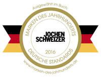 """Jochen Schweizer gehört zu den """"Stars 2016"""" unter den """"Marken des Jahrhunderts"""""""