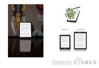 eBook-Reader im Taschenbuchformat: Icarus Illumina XL