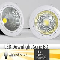 Neue LED Downlights-Allrounder, Serie BD
