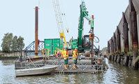 Bohrtechnik von STDS-Jantz für Kampfmittelbergung in Hamburg