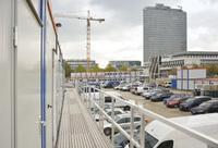 Großer HKL Containerkomplex in München