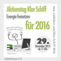 "Aktionstag ""Klar Schiff 2016"""