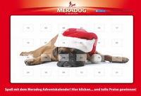 Im Meradog Online-Adventskalender gibt es wieder wertvolle Überraschungen für alle Hundefreunde