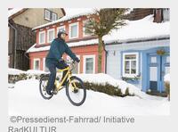 Mobil im Winter: Was Sie beim Radfahren in Dunkelheit, Schnee und Kälte beachten sollten