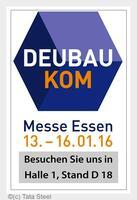 Tata Steel auf der DeubauKOM in Essen