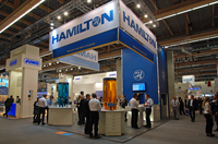 Hamilton präsentierte 2015 einige Neuheiten