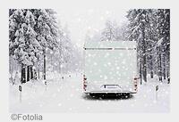 Wohnmobil-Tipps: So machen Sie Ihr Wohnmobil winterfest