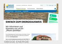 BIGGE ENERGIE mit neuer Internetseite