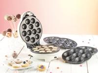 Rosenstein & Söhne 3in1 Donut-, Cupcake- und Cakepop-Maker