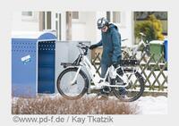 Radfahren im Winter: Akkus bauen ab, LED-Licht wird heller