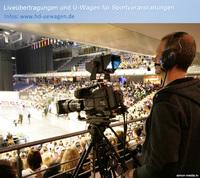 Liveübertragung bei den Cheerleading Weltmeisterschaften 2015 in Berlin