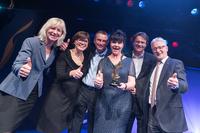 Mitarbeiterengagement der STADT UND LAND mit Human Resources Excellence Award 2015 ausgezeichnet