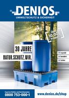 30 Jahre im Dienst der Umwelt - der neue DENIOS Katalog 2016