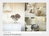 Belle blanc - weißer Landhausstil erhellt dunkle Wintertage