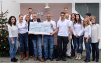 HS Dienstleistungen spendet 3.000 Euro für Kinder in Not