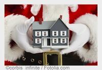 Die Immobilie als Weihnachtsgeschenk