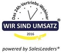 "Bekanntes 24h-Webinar ""Wir sind Umsatz"" nun powered by SalesLeaders"
