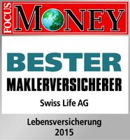 """Swiss Life als """"Bester Maklerversicherer"""" ausgezeichnet"""
