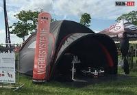 MAIN-ZELT: Neu, imposant & auffällig - aufblasbare Dome Zelte