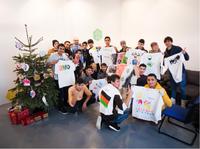 URBAN NATION: Stencil-Workshop für geflüchtete Jugendliche