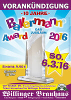 Jubiläum des Partyoscars - 10 Jahre Ballermann Award