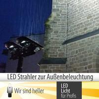 Außenbeleuchtung durch LED Strahler