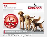 MERA Care Award 2016 - Helden auf vier Pfoten oder zwei Beinen gesucht