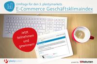 3. plentymarkets E-Commerce Geschäftsklimaindex