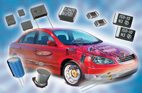 Vishay Intertechnology: Neue Bauelemente für Automotive