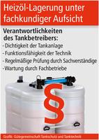 Heizöl-Lagerung unter fachkundiger Aufsicht