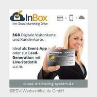 InBox: Cloud-Speicher als Werbemittel zur Kundenbindung