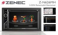 Spezial-Navi für Reisemobile und Caravans: der ZENEC Z-N626MH