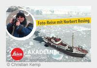 Polar-Kreuzfahrten gewinnt Norbert Rosing für Grönland Reisen