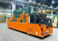 Hubtex präsentiert neue Glasgestelltransporter - GTR-Baureihe punktet mit höheren Sicherheitsstandards und Kosteneffizienz