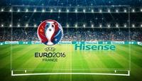 Hisense ist globaler Partner der UEFA EURO 2016™