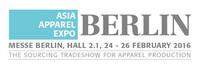 ASIA APPAREL EXPO -- Wichtige europäische Fachmesse für asiatische Bekleidungsunternehmen findet im Februar 2016 statt