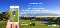 Mit der Golfmotion App endlich nicht mehr alleine golfen