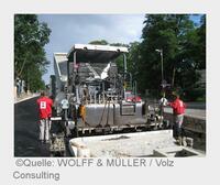WOLFF & MÜLLER: Straßenbau per App