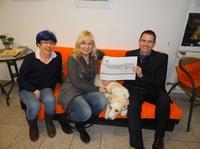 Rüsselsheimer Volksbank unterstützt Tierschutzverein