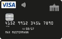 """30€ Startguthaben* für Neukunden der dauerhaft grundgebührfreien """"Deutschland-Kreditkarte"""" VISA Card"""