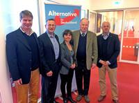 Bayerischer AfD Mittelstand besucht Landtagsfraktion in Potsdam