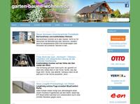 garten-bauen-wohnen.de: Deutschlands große Informationsplattform mit 35 Internetportalen erfolgreich gestartet