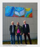 Hyazinth Pakulla gestaltet Kunstwerk für das Westfalen-Kolleg Paderborn