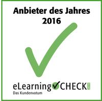 eLearningCHECK: Kunden wählen inside zum Anbieter des Jahres