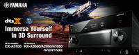 Yamaha bringt DTS:X und HDR ins Heimkino: Update für aktuelle AV-Receiver und Digital Sound Projector YSP-5600 angekündigt